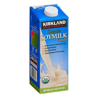 Kirkland Signature Organic Vanilla Soy Milk 946ml - 096619998616 (2271113)