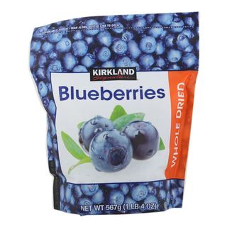 Kirkland Signature Whole Dried Bluberries 567g - 096619968312 (2319201)