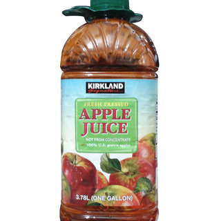 Kirkland Signature Pressed Apple Juice 1Gal - 096619158997 (2335440)