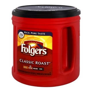 Folgers Classic Roast Medium Ground Coffee 1.36kg - 025500005188 (2364837)