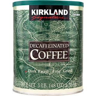 Kirkland Signature Decaffeinated Arabica Dark Roast Coffee 1.36kg - 96619462421 (2075726)