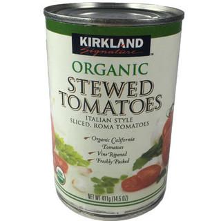 Kirkland Signature Organic Stewed Tomatoes 411g - 096619937318 (2614519)