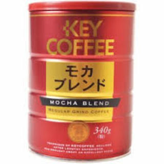 Key Coffee Mocha Blend In Can 340g - 4901372203821 (2620325)