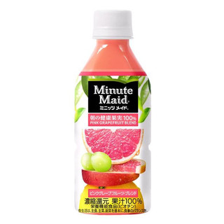 Minute Maid Pink Grape Fruit Drink 350ml - 4902102056908 (2585728)