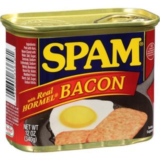 SPAM Luncheon Meat With Hormel Real Bacon 340g - 037600336581 (2219309)