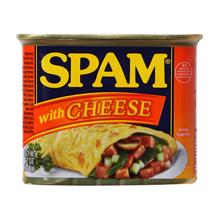 SPAM Luncheon Meat Cheese 340g - 37600034470 (2117477)