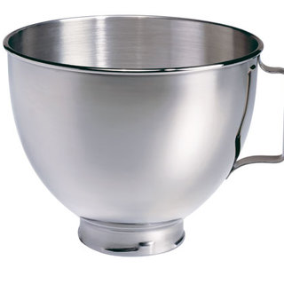 KitchenAid 4.5Qt Stainless Steel Bowl with  Handle Stainless Steel K45SBWH