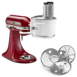 KitchenAid Food Processor Attachment White KSM1FPA (stand mixer not included)