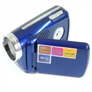 1.8 Inch LCD Cyber-cam Mini Dv Camcorder 12mp 4x Zoom - Blue