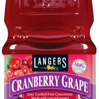Langers Cranberry Grape Cocktail Juice 1.89L - 041755008606 (2252241)