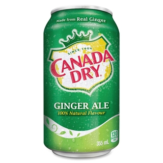 Canada Dry Ginger Ale 355ml - 07811403 (2339977)
