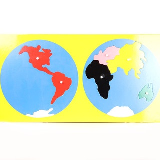 WORLD MAP - 7 CONTINENTS PUZZLE (TWH02S)