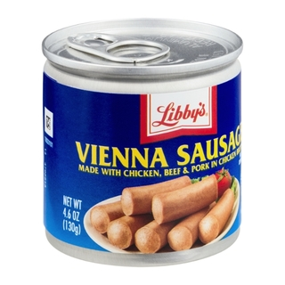 Libby's Vienna Sausage Regular 4.6oz - 39000086639 (1202036)
