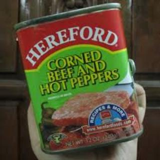 Hereford Corned Beef & Hot Pepper 340g - 71615901105 (2082881)