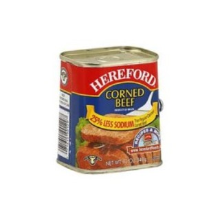 Hereford Corned Beef 25% Less Sodium 340g - 71615901297 (2083372)