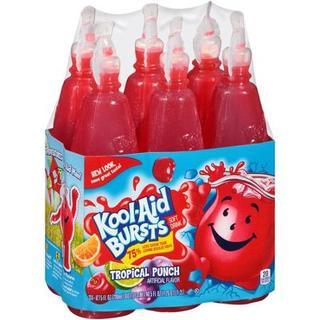 Kool-Aid Burst Tropical Punch 6'sx6.75oz - 43000953693 (1412177)