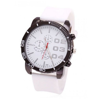 Men Stainless Sport Watch - White