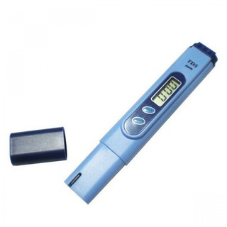 Pen Type TDS Meter Tester with Calibration Solution - Blue