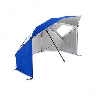 Beach Umbrella Tent - Blue