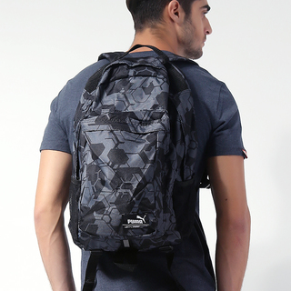 PUMA UNISEX CANOPY BACKPACK BLACK-CAMO (071036 01)