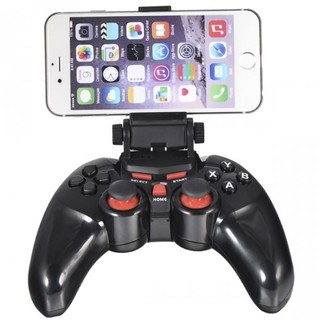 DOBE Wireless Bluetooth Game Controller with Telescopic Stand - Black