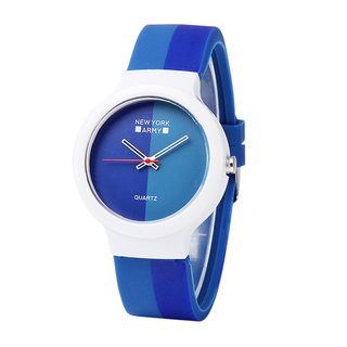 Newyork Army Blue Hues Silicon Watch