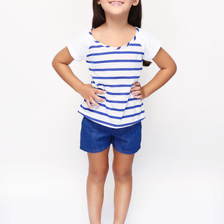 BASICS FOR KIDS GIRLS BLOUSE - WHITE (G307200-G307220)