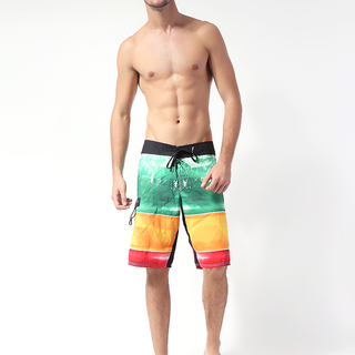 REEF MEN'S BOARDSHORT GREEN/ORANGE (68420)