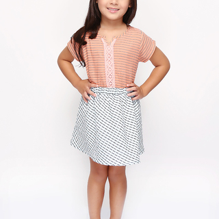 BASICS FOR KIDS GIRLS SKIRT - BLUE (G704625-G704645)