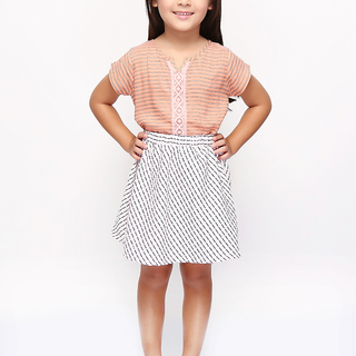 BASICS FOR KIDS GIRLS SKIRT - PINK (G704592-G704612)
