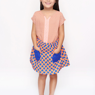 BASICS FOR KIDS GIRLS SKIRT - ORANGE (G704659-G704679)