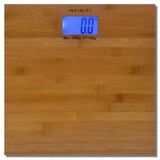 Infiniti Digital Real Bamboo Slim Bathroom Scale DBS-001