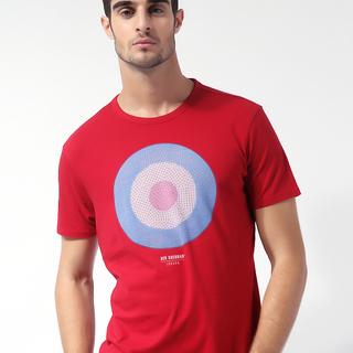 BEN SHERMAN MEN'S ROUND NECK T-SHIRT RED (68615)