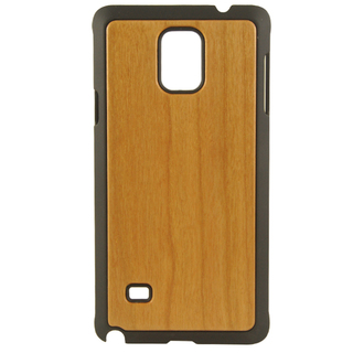 BAUM Plain Cherry Wood Edition Case for Galaxy Note 4
