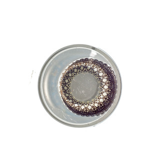 SPARKLE ROYAL HIGHNESS BROWN (16MM WITH 21MM) CONTACT LENS