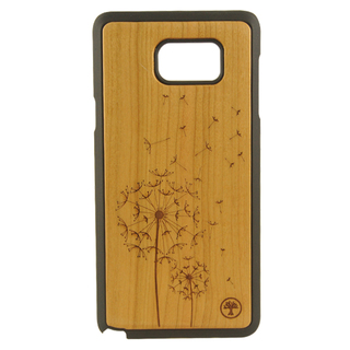 BAUM Dandelion Cherry Wood Edition Case for Galaxy Note 5