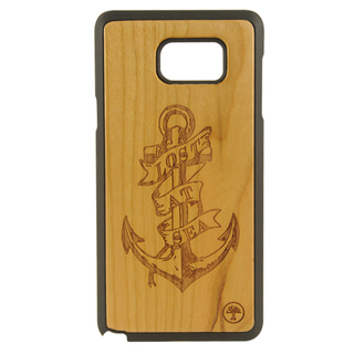 BAUM Anchor Cherry Wood Edition Case for Galaxy Note 5