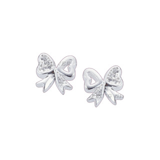 Silver First Sterling Silver 925 Silver Stud Earrings G154