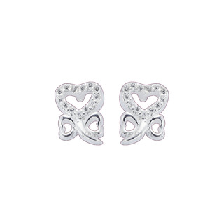 Silver First Sterling Silver 925 Silver Stud Earrings G222