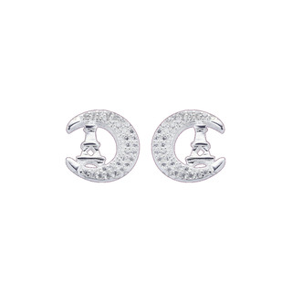 Silver First Sterling Silver 925 Silver Stud Earrings G226