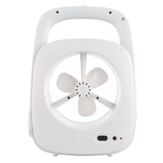 3-in-1 Rechargable Fan with Torch and Desk Lamp (Akari ARF-7601)