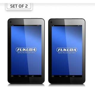 "Fukuda FCT-94AW8 9"" Android 4.4 Tablet 8GB Quad-Core – Set of 2"