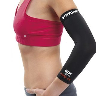 GYMFORM COPPERLINE ELBOW SLEEVE