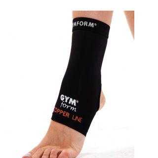 GYMFORM COPPERLINE ANKLE SLEEVE
