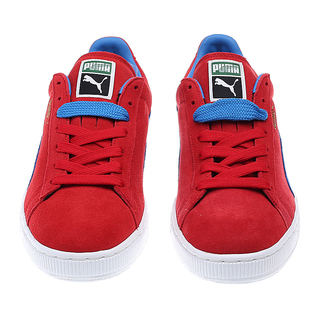 PUMA SUEDE CLASSIC HIGH RISK RED FRENCH BLUE 356568 02