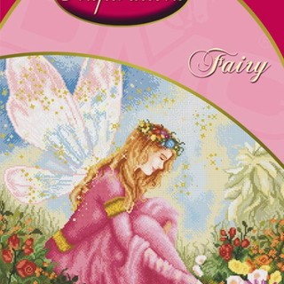 DMC INSPIRATIONS CROSS-STITCH KIT: FAIRY (ECK-002)