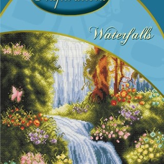 DMC INSPIRATIONS CROSS-STITCH KIT: WATERFALLS (ECK-003)