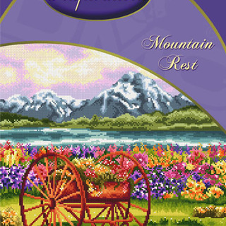 DMC INSPIRATIONS CROSS-STITCH KIT: MOUNTAIN REST (ECK-023)