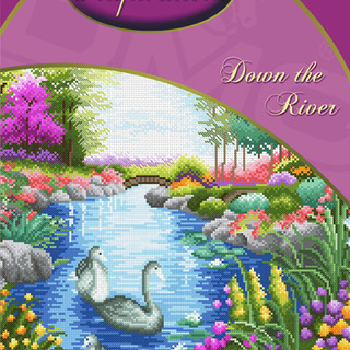 DMC INSPIRATIONS CROSS-STITCH KIT: DOWN THE RIVER (ECK-025)