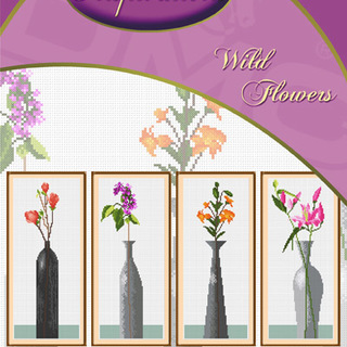 DMC INSPIRATIONS CROSS-STITCH KIT: WILD FLOWERS (ECK-027)